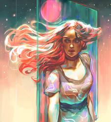 Pink! Hair! by Vetyr