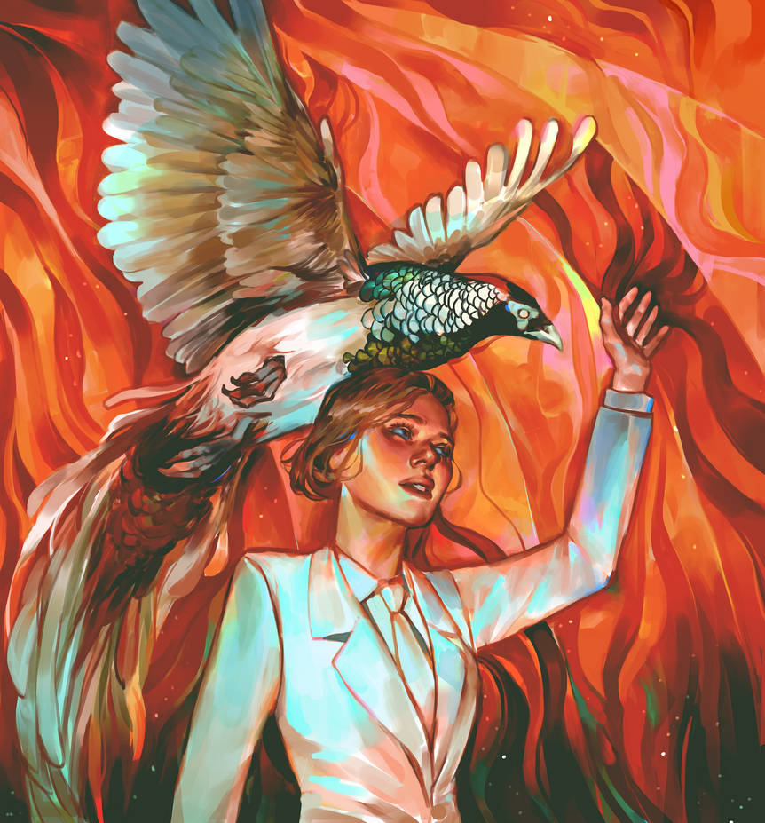 First Wielders of Fire Magic by Vetyr