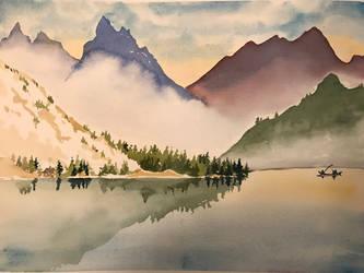 Misty mountains by sintel16