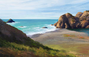 Virtual Plein Air - California, US by Narholt