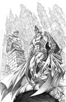Batman and Robin Commission by quahkm