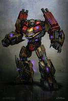 War for cybertron Demolisher by tritie