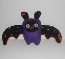 Halloween Bat by kiddomerriweather