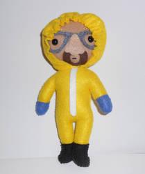 Heisenberg Plushie by kiddomerriweather