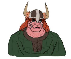 Viking Lady by Fruffers