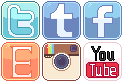 Social Media Buttons by RevPixy