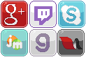 Social Media Buttons [3] by RevPixy