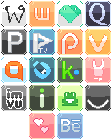 Logo Buttons 5 by RevPixy