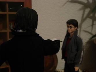Snape vs Harry by LEX-graph