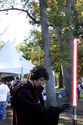 Lightsaber Levitation by TheBishounen55