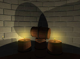 Barrels in the Candlelight Rev by TheBishounen55