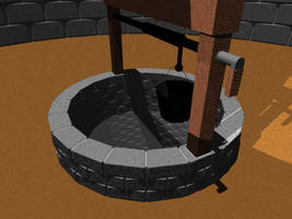 Medieval Donjon - The Well by TheBishounen55