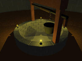 The Well in Candlelight by TheBishounen55