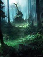 Au milieu des bois... by ourlak