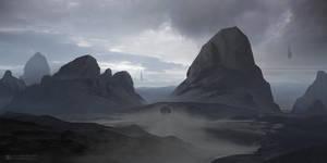 Infinite Desert by ourlak