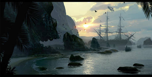 Skull island by ourlak