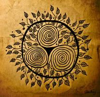 The Sun by bionomi