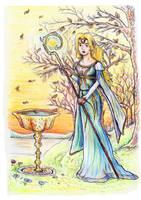 Galadriel the elven lady by VisAnastasis