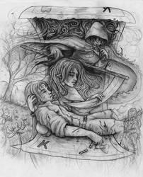 Demise of King Heart by VisAnastasis