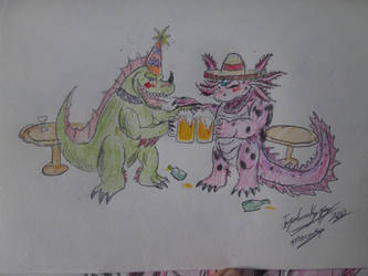 Cheers compadre by Mexicankaiju
