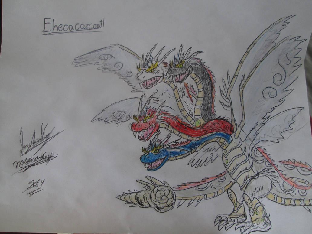 Ehecacozcoatl sketch by Mexicankaiju