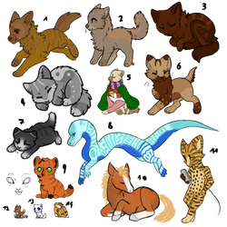 Adopt batch 1 [OPEN 13/14] by FerriusAdopts