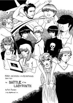 Battle of the Labyrinth by dracaena-akira