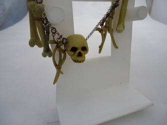 gothic cannibal necklace by godsscrawl