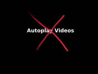 Stop Autoplay Videos by creativesam