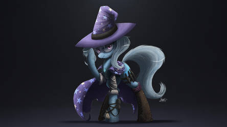 Night Shift - Lulamoon, Trixie by NCMares