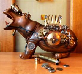 Hippopotamus-safe 2 by Albegoyec