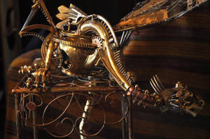 The Dragon by Albegoyec