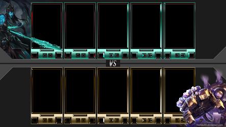 [FREE]Blitzcrank Kalista Loading Screen Overlay by Tramauhh