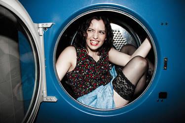 Laundry room drama by Zi0oTo