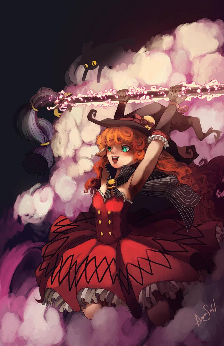 Dfo Witch Weapon Wwwtopsimagescom