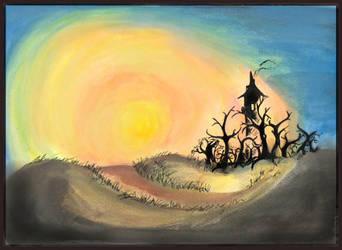 Sunset Halloween 2005 by Tabatrix