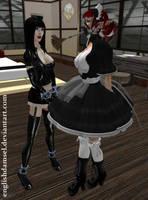 Preparing the New Maid by EnglishDamsel