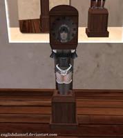 Maid Clock by EnglishDamsel