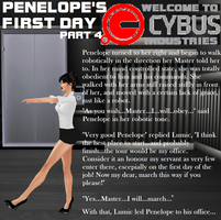 Penelope's First Day Part 4 by EnglishDamsel