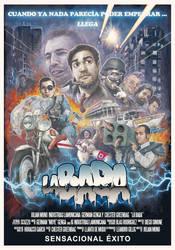 afiche la baba by Lamonicana