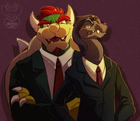 Badass villains by xNIR0x