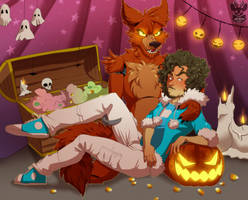 Halloween in pirate cove by xNIR0x