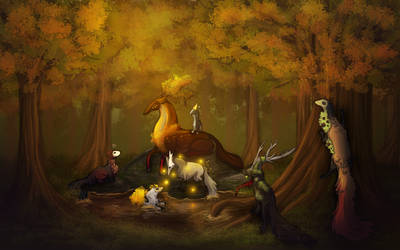Enchanted Forest by DreamerTheTimeLady