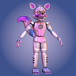 Prototype Funtime Foxy - [FNaF SL Blender] by ChuizaProductions