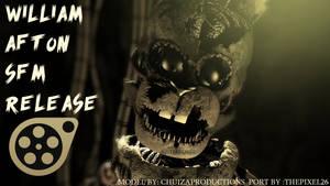 William Afton SFM Release! - [FNaF 6FFPS SFM] by ChuizaProductions