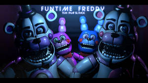 TFM FNaF SL Pack - [Funtime Freddy Showcase] by ChuizaProductions