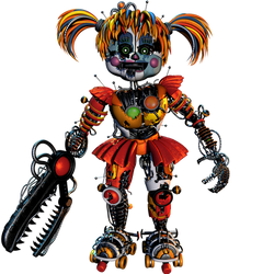 Scrap Baby Full Body - [FNaF 6 FFPS] by ChuizaProductions