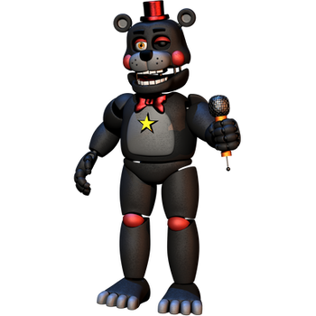 Lefty Fullbody - [FNAF 6 FFPS Blender ] by ChuizaProductions