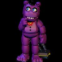 Mr.Hippo FullBody - [FNaF 6 FFPS Blender] by ChuizaProductions