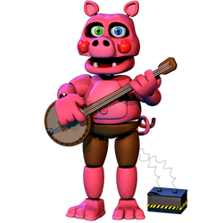Pigpatch FullBody - [FNAF 6 FFPS] by ChuizaProductions